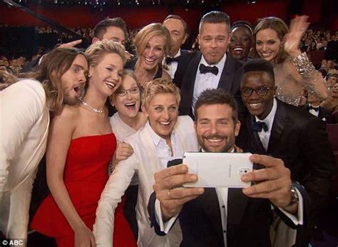 bradley cooper owns  rights  oscars selfie