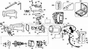 Dewalt Dw305 Parts List And Diagram
