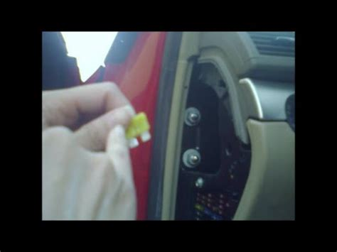 fix  fuse cigarette lighter  car youtube
