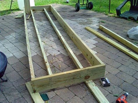 How To Build A Boat Dock Out Of Wood by Floating Dock With Barrels Plans Diy Repurposed Barrels