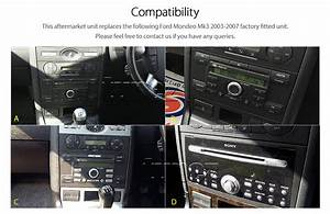Android Auto Mp3 Spieler Ford Mondeo Mk3 2003