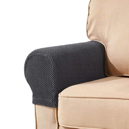Armchair Cover Set by Subrtex Spandex Stretch Fabric Armrest Covers Sofa