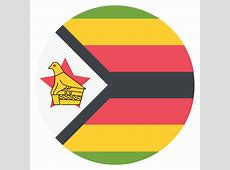 Zimbabwe Flag Vector Emoji Icon Free Download Vector