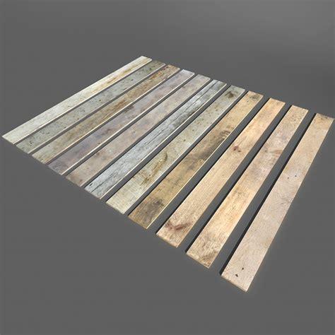 model wood planks
