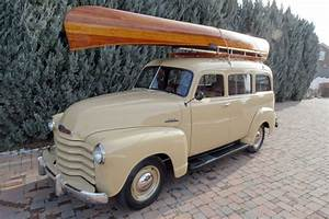 This 1952 Chevrolet Suburban Carryall Is An O G  Suv