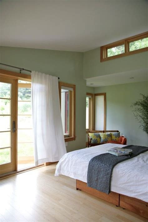 Bedroom Paint Ideas Wood Trim by Green With Oak Trim Living Dining Room Wood Bedroom
