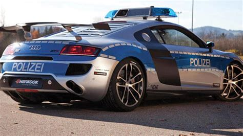 audi  gt  fastest police car car news carsguide