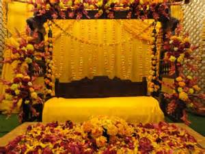 baby shower centerpieces boys mehendi function decor ideas with yellow flowers