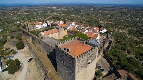 Castelo De Vide Aerial View 4k Ultra Hd Youtube