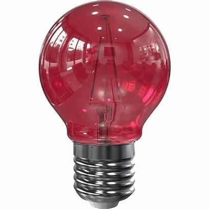 Lamp Filament Led G45 Watt Tronix Rood