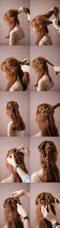 Einfache Und Schöne Valentinstag Frisur Tutorial ♥ Herz