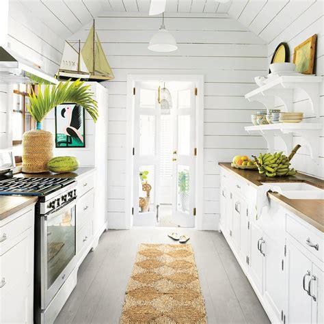 white coastal kitchen 10 beautiful white house kitchens coastal living 1015