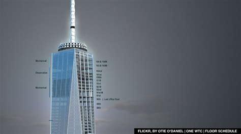 Update   World Trade Center Reaches  Heights
