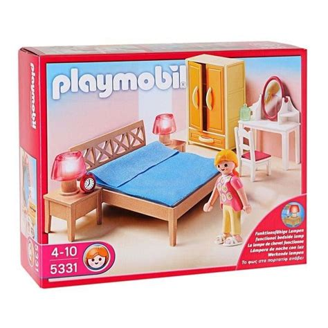 chambre des parents playmobil lit adulte playmobil