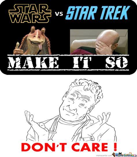 Star Wars Star Trek Meme - star wars vs star trek by pent meme center