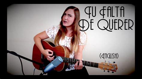 Mon Laferte (english Cover By