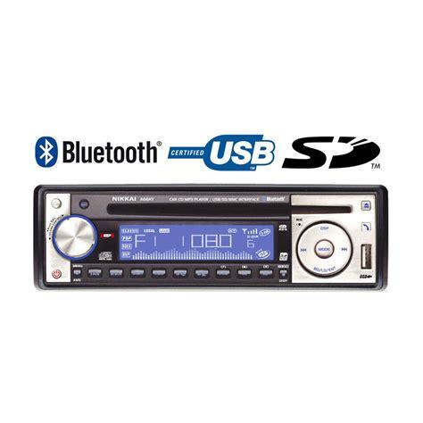 bluetooth cd player nikkai bluetooth car stereo cd mp3 player radio sd usb