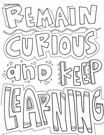 Environment Quotes Educational Classroom Doodles Printables