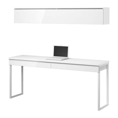 bestå burs desk high gloss white a besta burs for my bedroom our em renovation experience