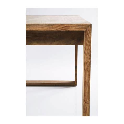 bureau design bois bureau en bois nature kare design