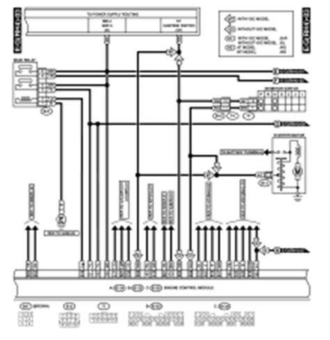 Subaru Legacy Wiring Diagram Engine Electrical System