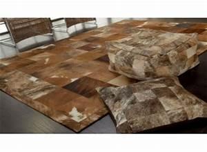 tapis en peaux de vache 140x200 170x240 200x300 cm With tapis peau de vache avec canapé microfibre avis