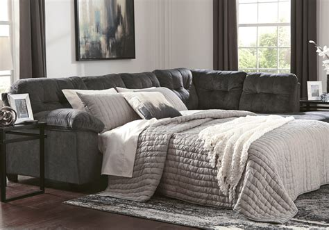Sectional Sleeper Sofas On Sale by Accrington Granite 2pc Laf Sleeper Sofa Sectional