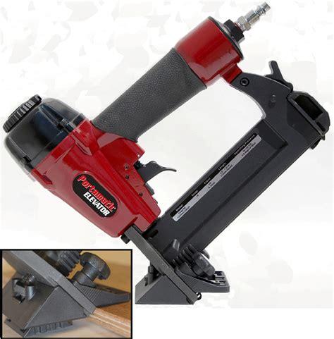 18 flooring nailer pf18glcn porta nails portamatic evolution 18 adjustable floor