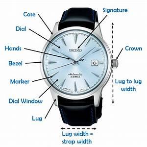 35 Parts Of A Watch Diagram