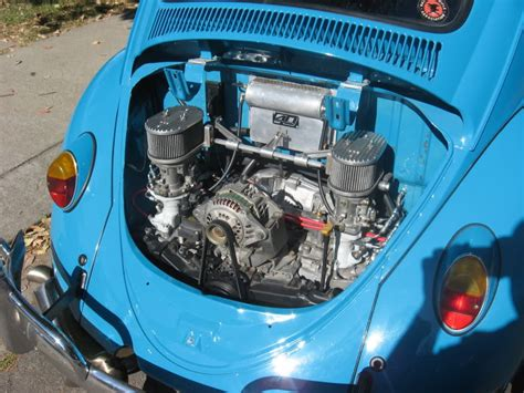 subaru boxer engine in vw beetle beetle with subi ej22 bone stock with 36mm dellortos