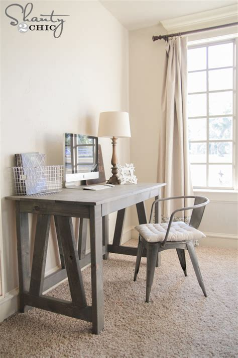 woodworking plans diy desk