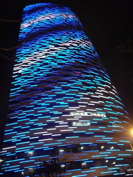 led linear light facade illumination strongled project