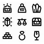 Icons Objective Objects Pet Vector