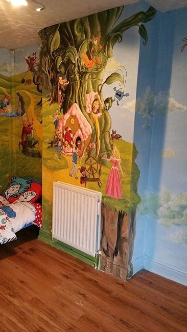 colorful wall painting ideas kids room decorating