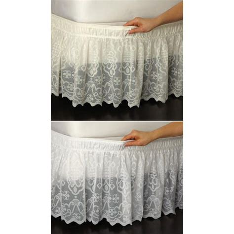 sears sheer lace curtains 17 best images about bedroom on ruffles