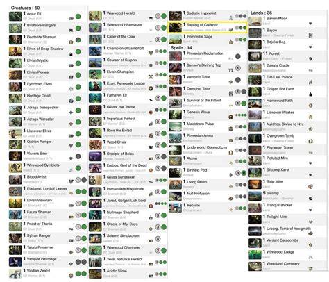 mtg commander 2015 green deck list autos post