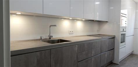 muebles de cocina hormigon  blanco cocinasalemanascom