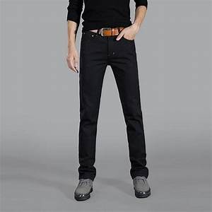 Business style dress jeans good quality cotton mens jeans ...