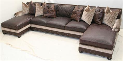 double chaise sectional sofa large double chaise sectional sofa