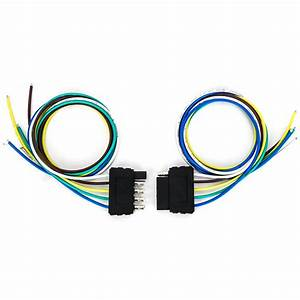Tirol 5 Pin Male Plug Flat Trailer Wiring Harness