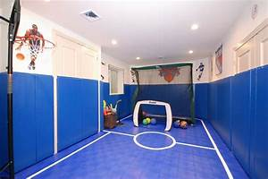 24 child friendly finished basement designs page 3 of 5 for Finished basement kids