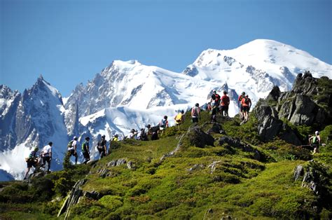photo du mont blanc marathon du mont blanc race spectator guide peak transfer peak transfer