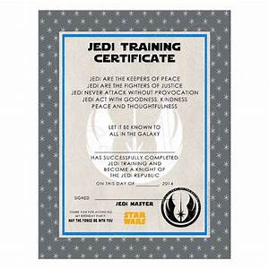 best 25 training certificate ideas on pinterest jedi With star wars jedi certificate template free