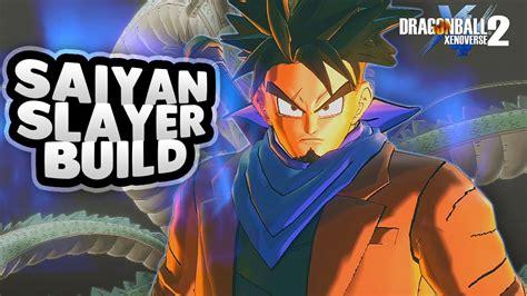 The Saiyan Slayer Build! Op Male Earthling Build • The