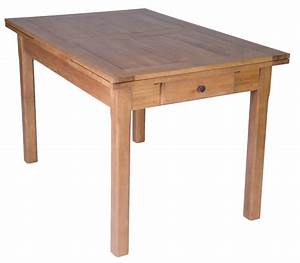 table de cuisine chene 120x80 table en chene massif With table de cuisine ancienne en bois