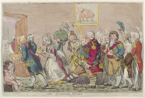 chambre de noce file the wedding by isaac cruikshank jpg wikimedia