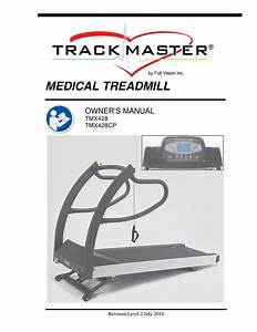 Trackmaster Tmx428 Medical Treadmill Owners Manual  User