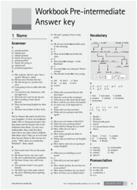 solutions workbook intermedia pre гдз по