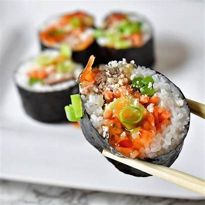 Sushi Rolls Roll Recipes Pretty Japanese Pineapple