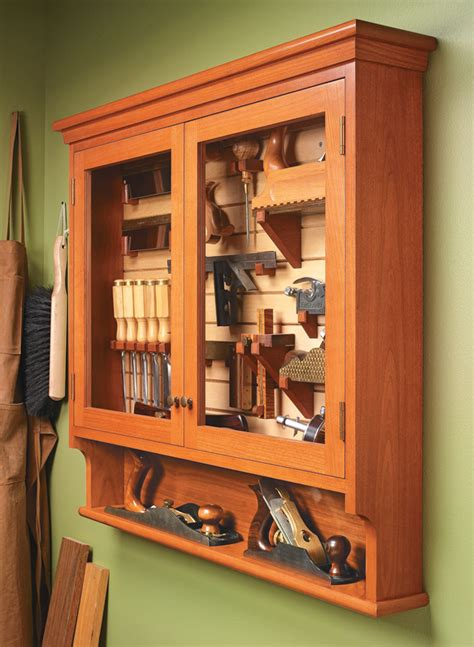 fine tool cabinet woodworking project woodsmith plans